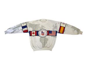 Vintage United States Olympic Training Center Pull Over Crewneck Size Medium