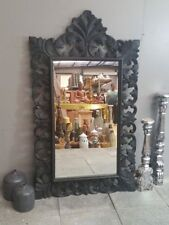 Wooden Frame Bathroom Mirrors