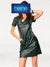 KP 79,90 € sale/%/%/% schokobraun Maxi-vestido vestido de camisa Heine nuevo!!