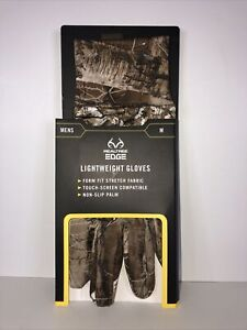 REALTREE EDGE Lightweight Gloves Men M Camo Hunting