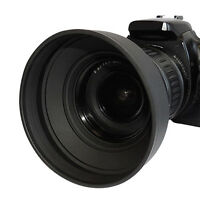 52mm Pro Series Soft Rubber Lens Hood