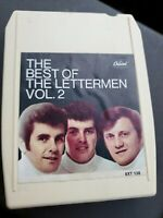 The Best of the Lettermen Vol 2 8 Track Capitol 8xt-138 VG tested
