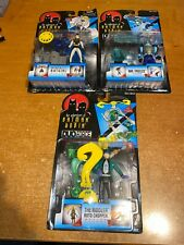 BATMAN AND ROBIN ANIMATED FIGURE  LOT X3