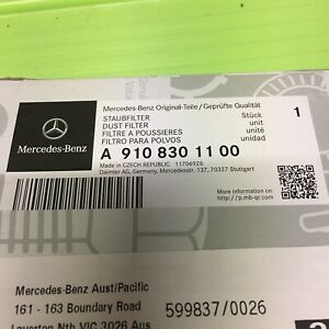 Genuine Mercedes Benz AC Filter Dust Filter Sprinter A9108301100