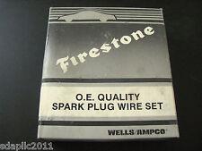 Wells Ampco QW625 Spark Plug Wire Set In Firestone Box