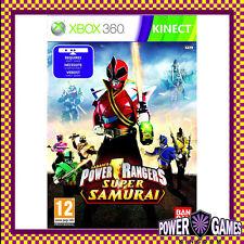 Power Rangers Super Samurai (Microsoft Xbox 360) Brand New FREE REGISTERED POST