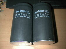 2 X NICHICON SUPER THROUGH 15000uF 71V FOR AUDIO CAPACITOR
