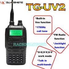 TG-UV2 Dual Band VHF136 ~ 174+UHF400 ~ 470 2-Way Radio Amateur