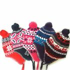 1 Peruvian Winter Ear Flap Muff Ski Hat Skully Beanie Cap Snow Mens Women Unisex