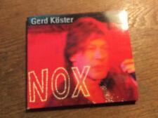 Gerd Köster Dirk Raulf - NOX - Lieder zur Nacht [CD Album]  2004