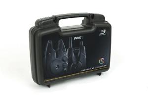 Fox Micron MX Bite Alarm + Receiver Set ALL VARIETIES Carp fishing tackle