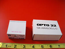 Opto 22 G4AD20 I/O Module Rate Input 10HZ-10KHZ G4 AD20 Solid State Nib New