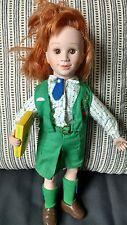 Vintage Avon Girl Scouts Usa Bisque Doll Cloth Uniform Tender Memories Cookies