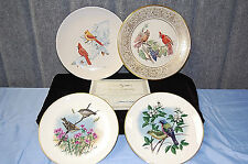 Limited Edition Plates: Birds & Flowers by Artists Boehm, Gilbert, Balke - M3595