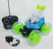 3D STUNT CAR BEN 10 REMOTE CONTROL RECHARGEABLE LIGHT MUSIC TOY GIFT TOYS