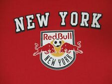 NEW YORK RED BULL SOCCER LONG SLEEVES QUALITY - RED XL T-SHIRT -A1371