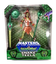 "MOTU Masters HE-MAN 200x SNAKE TEELA EXCLUSIVE MISB SEALED 6"" figure RARE"