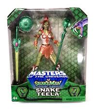 """Amos del universo Masters He-man 200x Serpiente Teela exclusivo sin usar y en caja sellada Sellado 6"""" Figura Rara"""