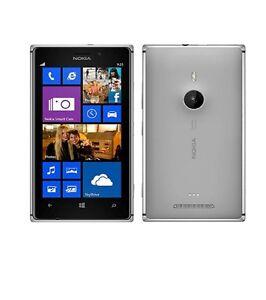 Nokia Lumia 925 Windows 8 Unlocked Grey 4G  8.0MP  16GB **Excellent condition**