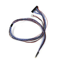 """LVDS CABLE 500mm IPEX 40P 2ch 6bit for 15.6"""" 17.3"""" 1600x900 1920x1080 LCD"""