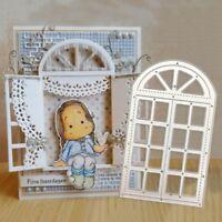 Window Frame Metal Cutting Dies Stencil DIY Scrapbook Paper Card Embossing Craft