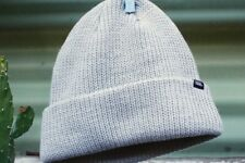 VANS Core Basic Beanie Heather Grey Baseball Cap Winter Ski Snowboard