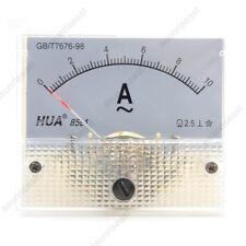 1×AC10A Analog Panel APM Current Meter Ammeter Gauge 85L1 AC0-10A