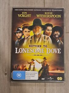Return to Lonesome Dove - DVD - Region 4 - FAST POST RARE