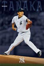 MASAHIRO TANAKA - NY YANKEES POSTER - 22 x 34 NEW YORK MLB BASEBALL 13432