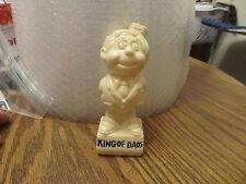 King of Dads vintage plastic figurine 1970s Hong Kong
