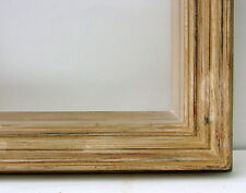 "FRAME MID-CENTURY MODERN WOODEN CARVED FITS 15 1/2"" X 12 1/2"""