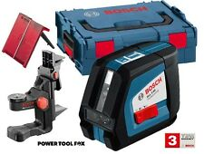 STOCK O - Bosch GLL2-50 CROSS LINE LASER + BM1 L-Boxx 0601063108 3165140775861