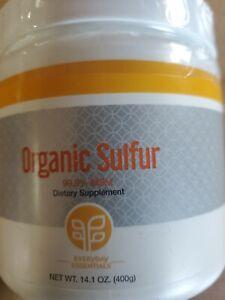 Genesis Pure Organic Sulfur Dietary Supplement 14.1 oz - New! Exp 11/2022!