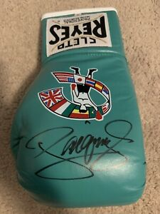 Manny Pacman Pacquiao Autographed Cleto Reyes Boxing Glove