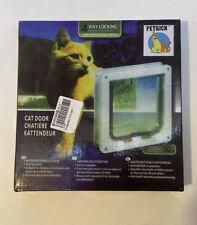 Petrich Cat Door Small New Open Box