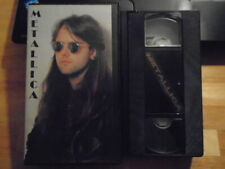 RARE OOP Metallica VHS music video Justice on Wheels documentary Canada 1991 uk