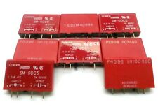 Lot of 8 Gordos SM-ODC5 Relay Module, In: 2.75-8VDC Out: 3-60VDC 3A