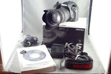 Pentax  K K-5 16.3 MP Digital SLR Camera + Sigma EX 18-50mm f2.8 + Manuals JUL31