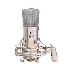 iSK BM-800 Large Diaphragm Studio Condenser Microphone Broadcast Recording