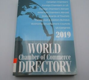 World Chamber Of Commerce Directory 2019 Like New Library Withdrawn
