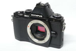 Olympus OM-D E-M5  Gehäuse / Body defekt für Bastler EM5 (2)