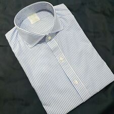 "Brooks Brothers Milano Slim-Fit Striped Shirt Non Iron Spread Collar 15.5"" - 34"