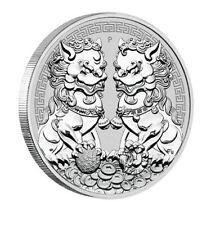Guardian Lions, Double Pixiu, 1 Oz Silbermünze, 2020