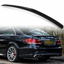 Painted Mercedes Benz W212 AMG Style ABS Rear Boot Spoiler High Gloss black