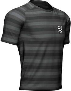 Compressport Short Sleeve Tee Performance Running Mens Black