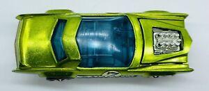 1971 SHARP Hot Wheels Redline SUGAR CADDY Cadillac Eldorado Candy Apple Green!