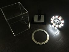 PersonIised Iron Man ARC REACTOR - ULTRA-Bright LED MK1 Costume Prop