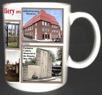 EASINGTON COLLIERY COAL MINE MUG LIMITED EDITION MINERS COUNTY DURHAM PIT