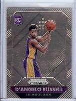 D'Angelo Russell 2015-16 Panini Prizm RC Rookie Card Lakers Timberwolves A #322