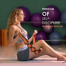 Portable Muscle Roller Body Massager Rope Back Neck Shoulder Leg Massage Strap